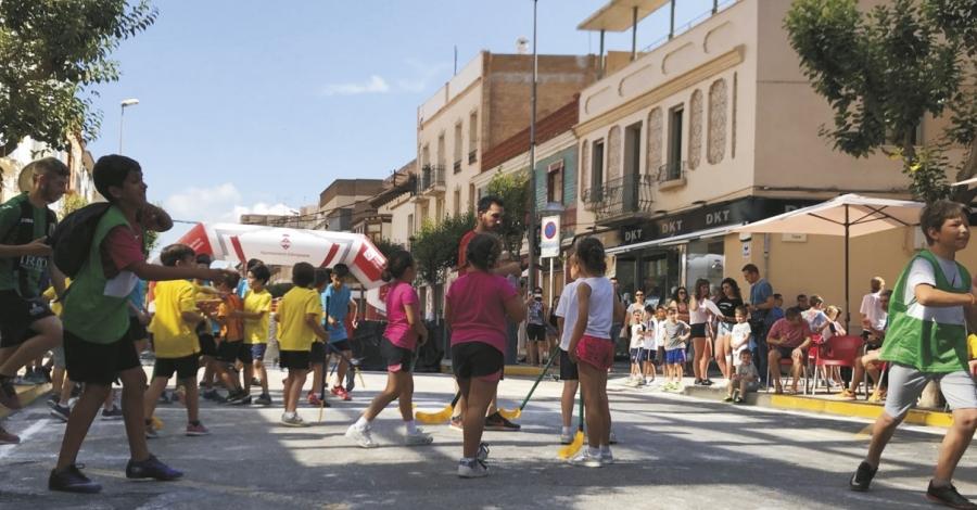 La Diada de l'Esport al Carrer promou els valors positius de l'activitat física