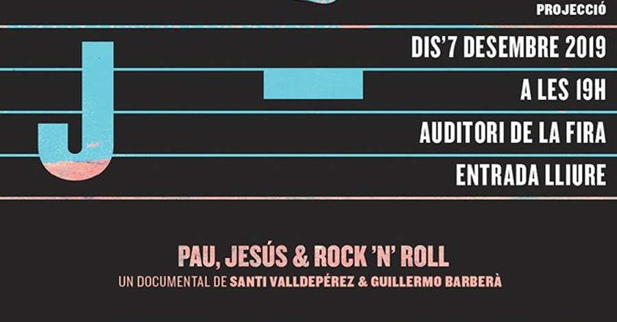 Estrena del Documental «J. Pau, Jesús & Rock'n'Roll»