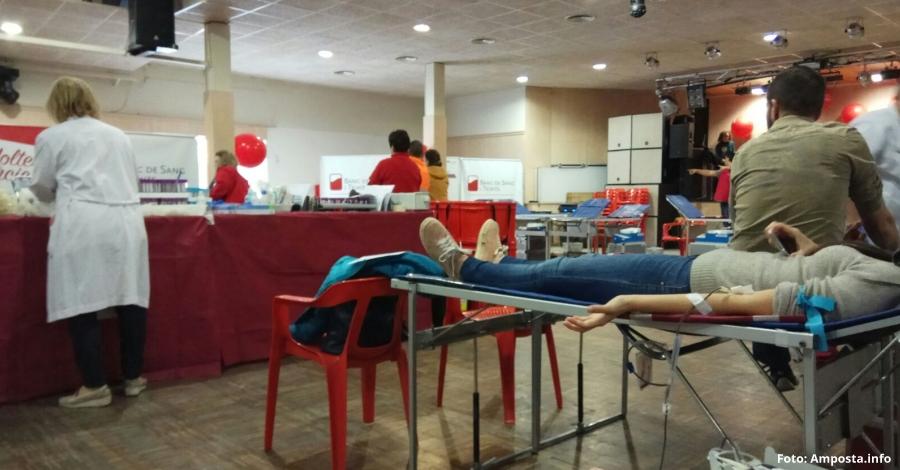 Comença la Marató de Donants de Sang