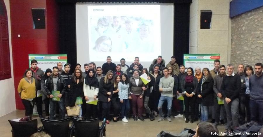 Els programes Joves per l'Ocupació entrega els diplomes als 90 participants d'aquesta edició