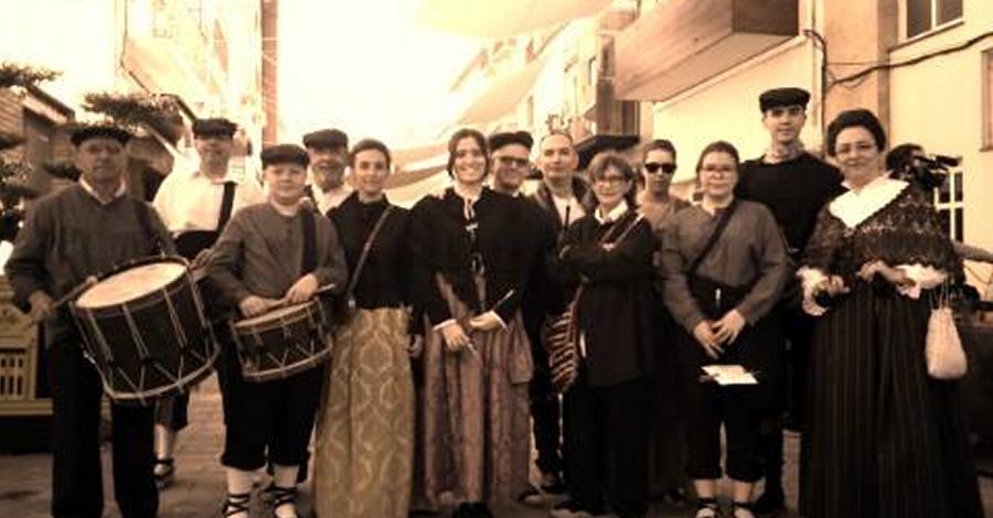 """Inauguració de l'exposició """"Dolçaines, tabals i festa. 25 anys de la Colla de dolçainers i tabaleters Grup d'Animació Sanfaina"""""""
