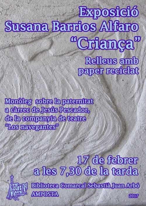 Inauguració de l'exposició CRIANÇA, de l'artista Susana Barrios