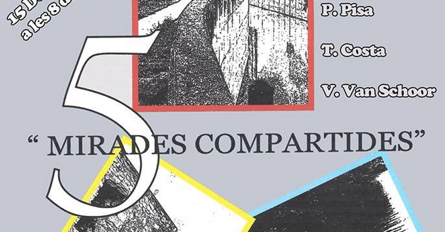 """Exposició col·lectiva de pintures """"Mirades compartides"""""""
