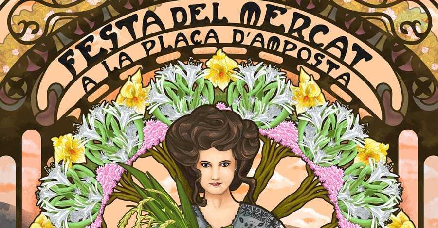 Mostra itinerant de la X Festa del Mercat a la Plaça a Barcelona