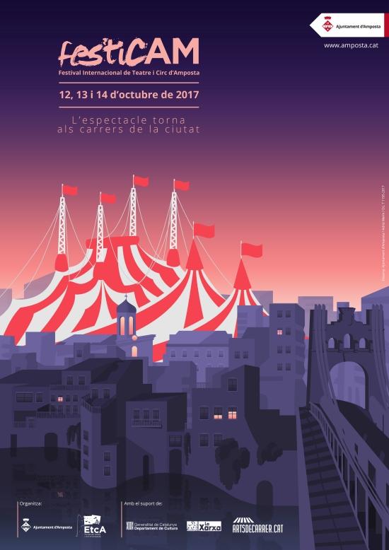 festicAM, Festival de Teatre i Circ d'Amposta