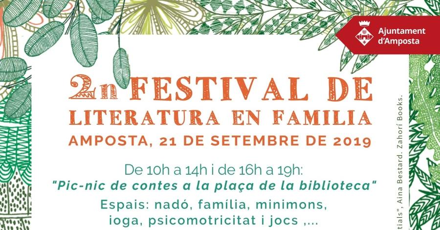2n Festival de Literatura en família