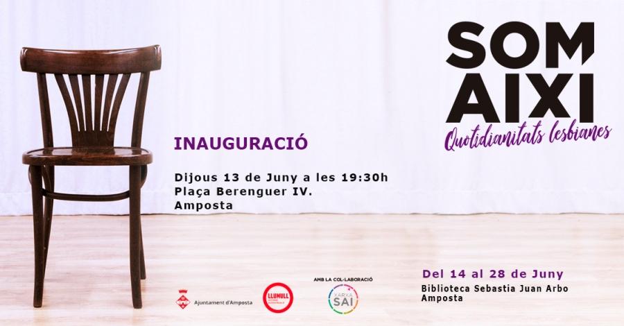L'exposició «Som Així! Quotidianitats Lesbianes» arriba a Amposta | Amposta.info
