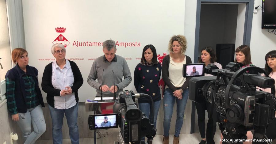 L'Ajuntament d'Amposta invertirà 1 milió d'euros en polítiques d'ocupació el 2018