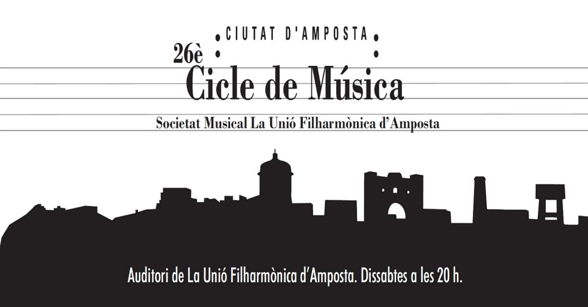 La Fila presenta el programa del 26è Cicle de Música Ciutat d'Amposta