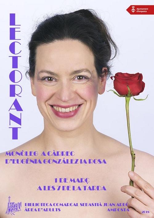 Lectorant: Monòleg a càrrec d'Eugènia González La Rosa