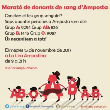 La Marató de Sang d'Amposta 2017 se suma a la donació de plasma | Amposta.info