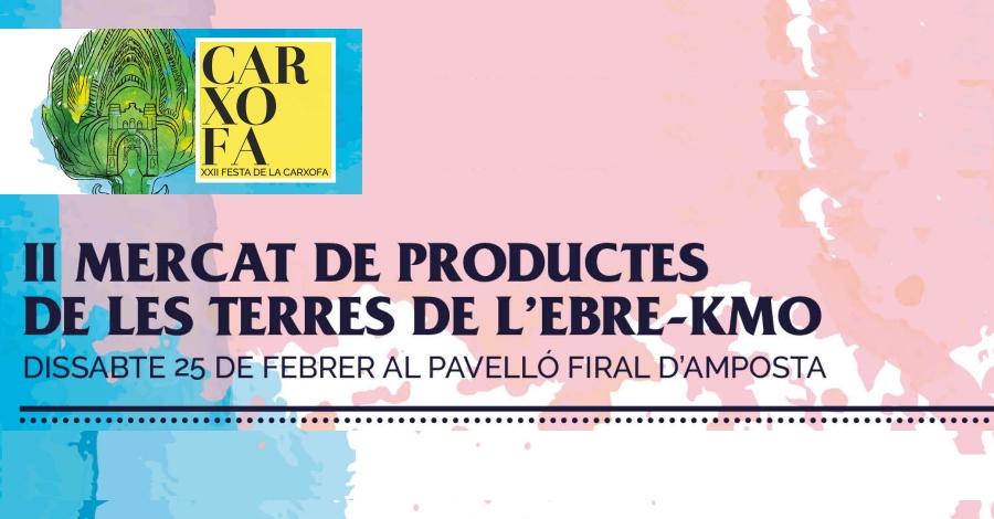 II Mercat de productes de les Terres de l'Ebre