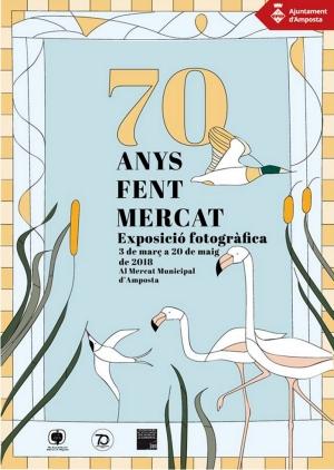 El Mercat d'Amposta enceta la celebració del seu 70è aniversari | Amposta.info