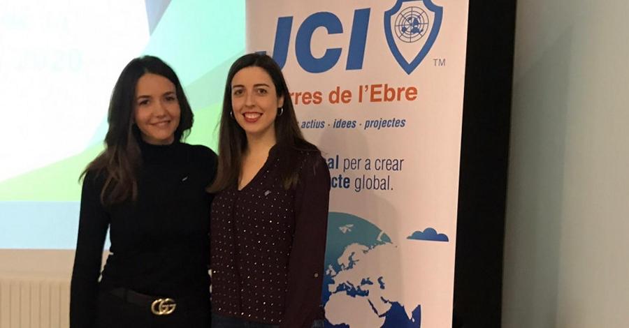 Mercè Adell, nova presidenta de la Jove Cambra Internacional de Terres de l'Ebre