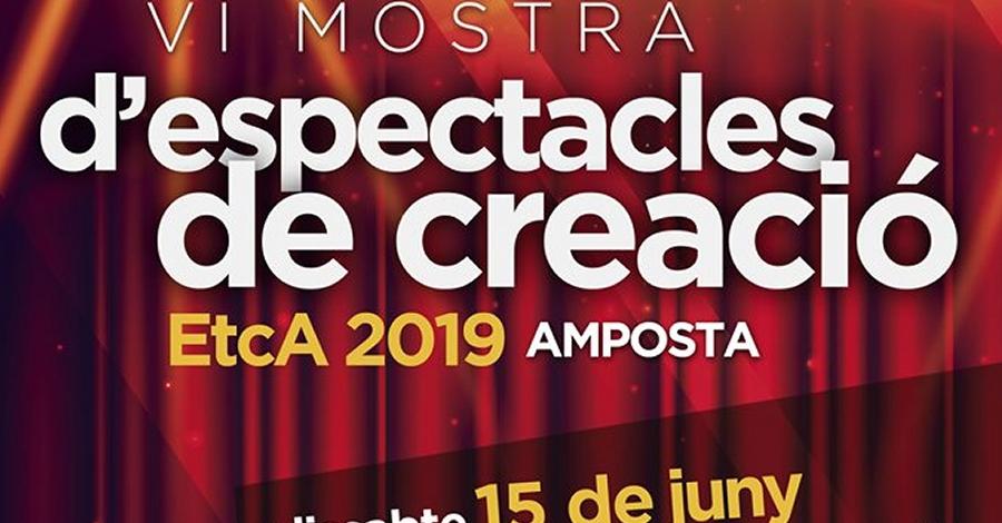 VI Mostra d'espectacles de creació EtcA 2019