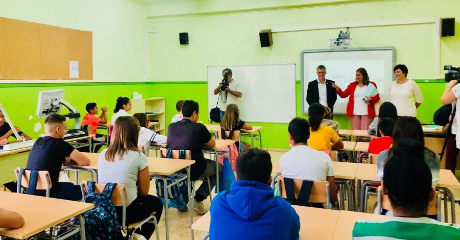 Amposta estrena el curs escolar amb l'ampliació de l'escola Agustí Barberà a Institut-Escola