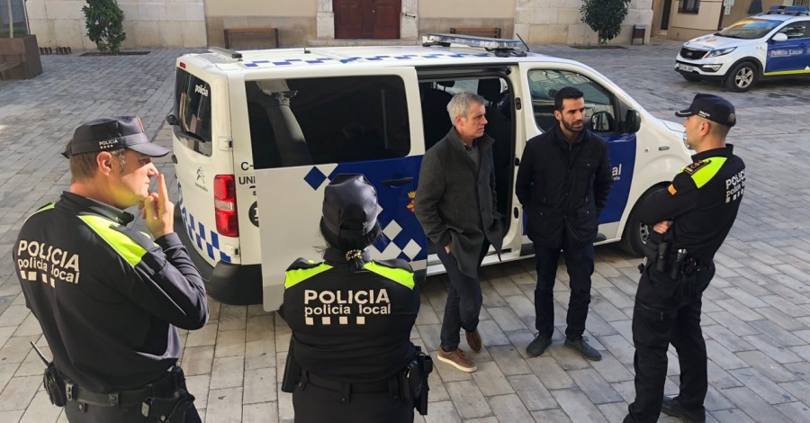 La Policia Local incorpora un nou vehicle d'atestats