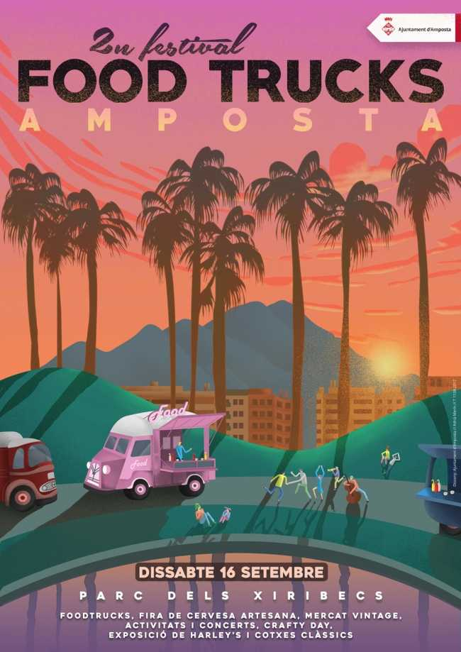Arriba el 2n Festival Food Trucks Amposta | Amposta.info