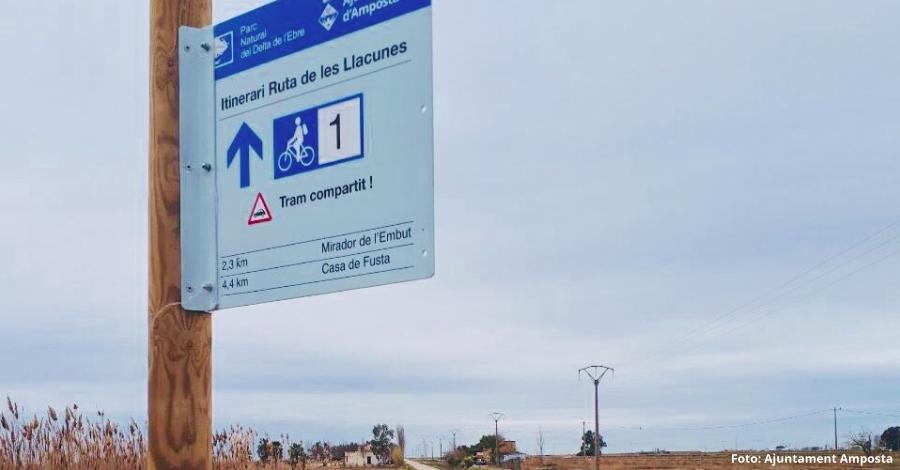 Nova senyalització turística a les llacunes de l'Encanyissada i la Tancada