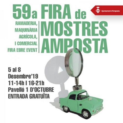 La 59a Fira de Mostres ja té cartell   Amposta.info