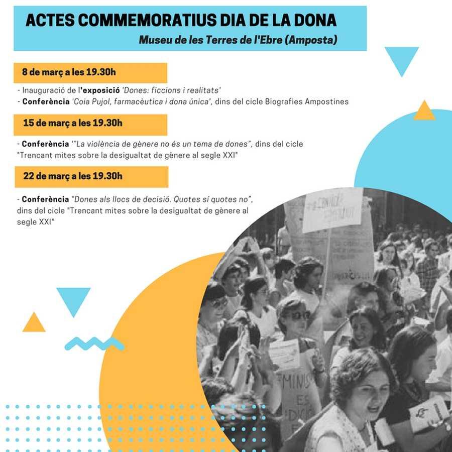 El Museu de les Terres de l'Ebre programa diverses activitats per commemorar el Dia de la Dona | Amposta.info