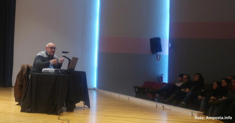 Conferència de l'antropòleg Manuel Delgado