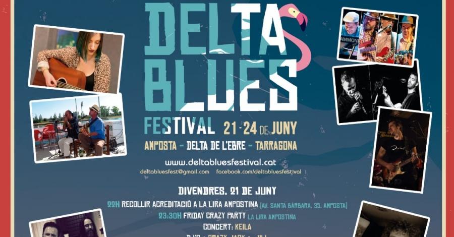 Cap de setmana de música i cultura al Delta Blues Festival