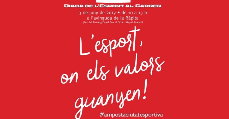 Torna la Diada de l'Esport sota el lema «L'esport, on els valors guanyen!»