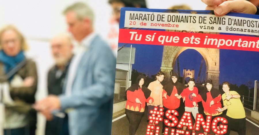 Marató de donants de sang d'Amposta