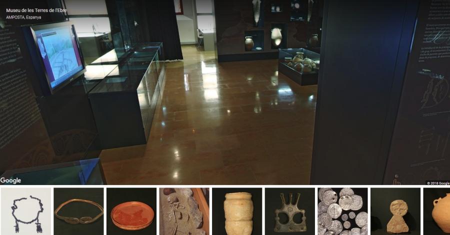 Un projecte del Departament de Cultura i Google permet visitar el Museu de les Terres de l'Ebre de forma virtual
