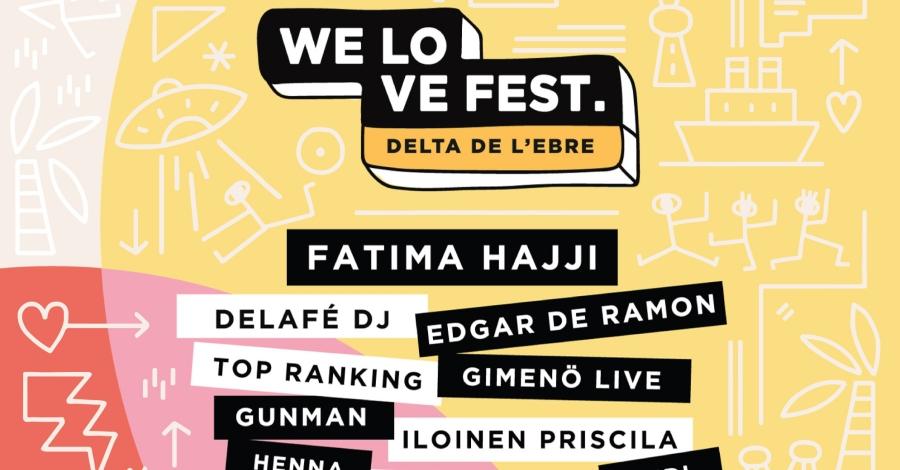 Amposta acollirà el festival de música electrònic i indi WE LOVE FEST