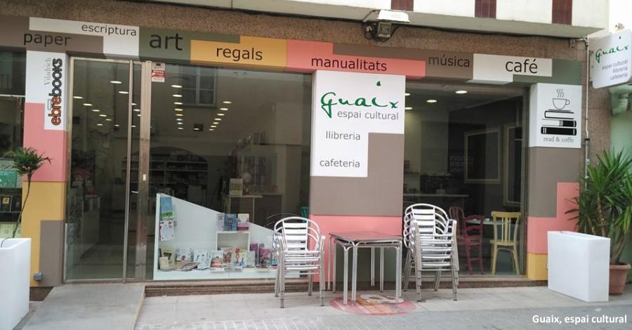 Obertura de l'espai cultural Llibreria-Cafeteria Guaix
