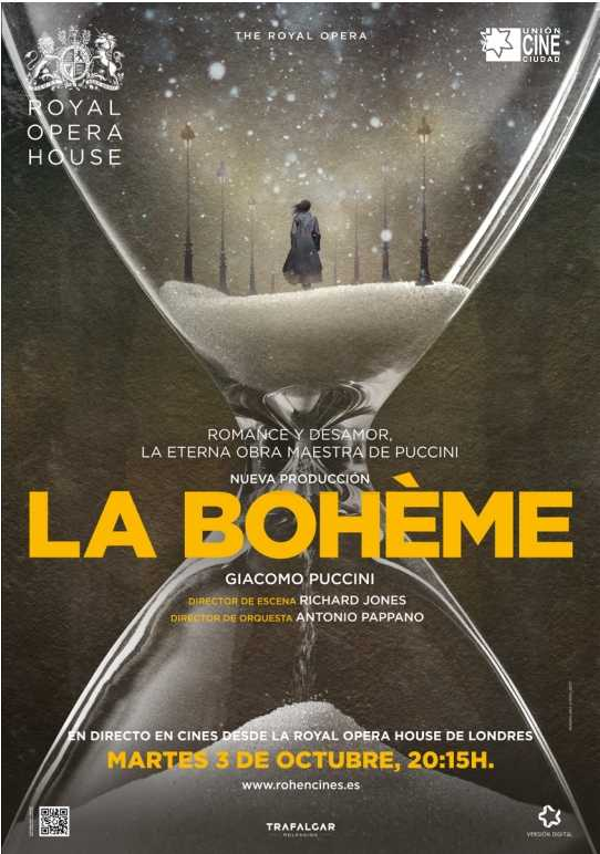 La Bohème. Òpera en directe des del Royal Opera House, Londres