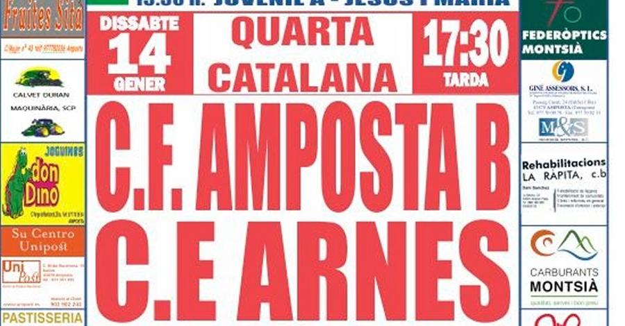 Futbol 4a Catalana: CF Amposta B - CE Arnes