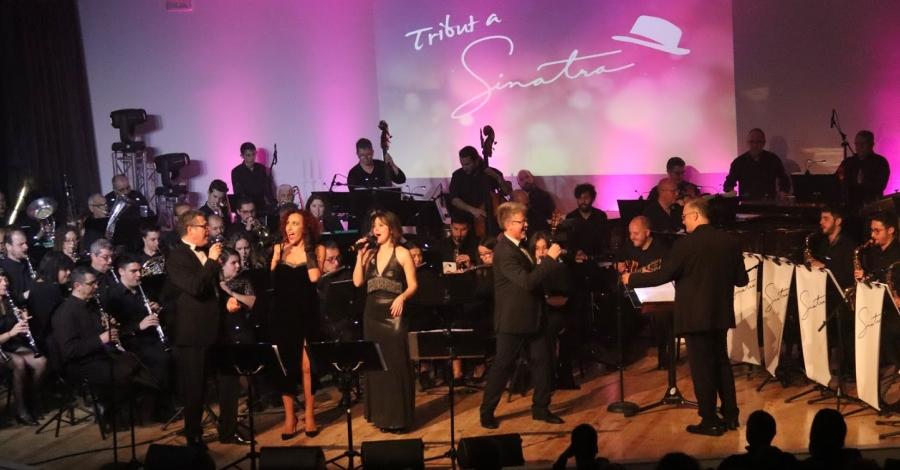 La Fila torna a entusiasmar amb l'espectacle musical Tribut a Sinatra