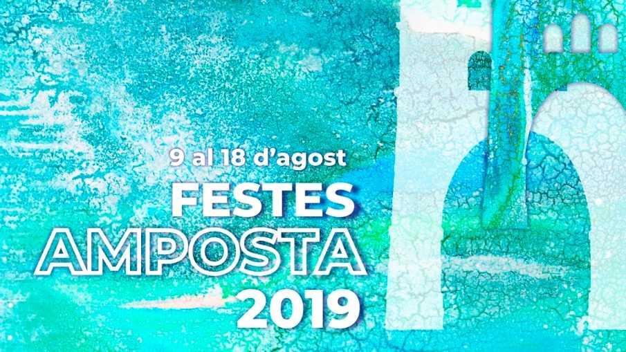 La dualitat entre l'aigua i la terra, concepte protagonista del cartell de les Festes Majors d'Amposta