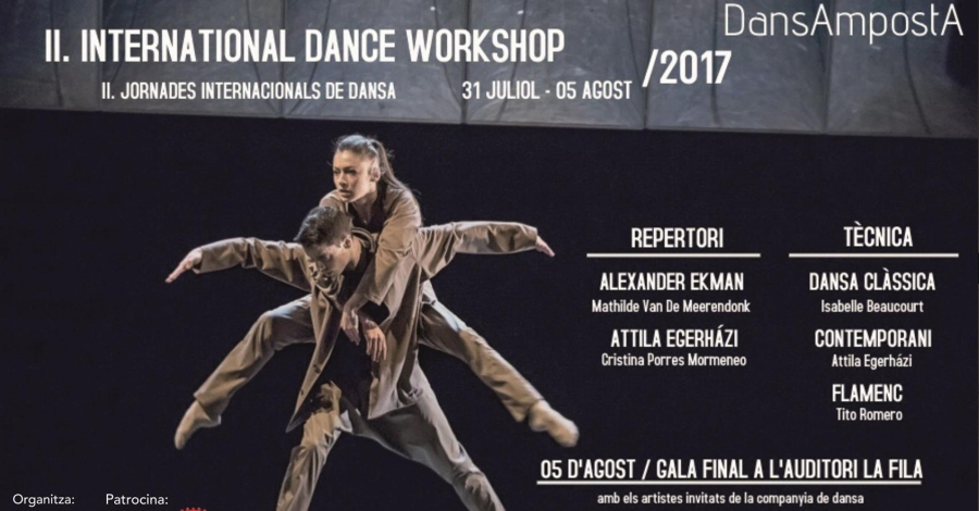 Amposta presenta la segona edició del Festival DansAmpostA