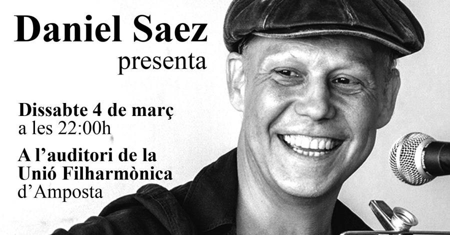 Daniel Saéz presenta el seu disc Vist des del Fangar
