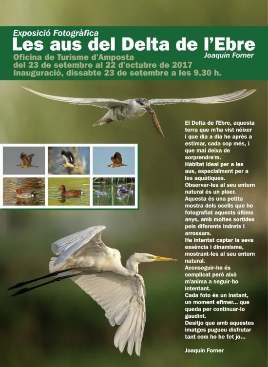 Presentació del llibre «Les aus del Delta de l'Ebre», de Joaquín Forner