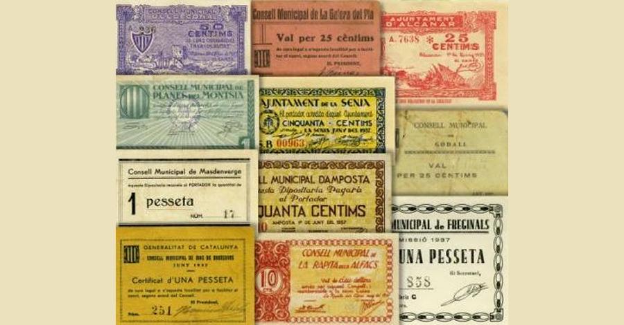 Un llibre i una exposició per conèixer el paper moneda que es va emetre a la comarca del Montsià durant la Guerra Civil