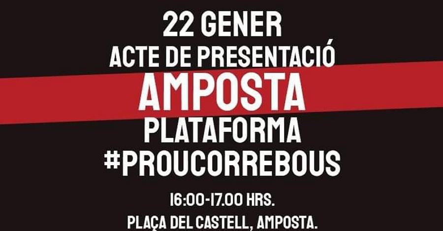 Acte de presentació de la Plataforma #ProuCorreBous