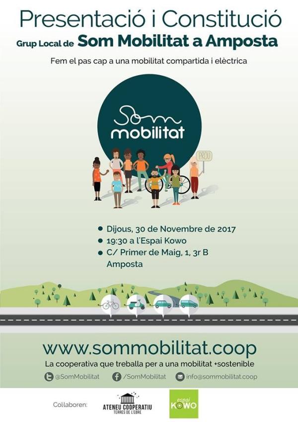 Presentació i constitució Grup Local Som Mobilitat a Amposta