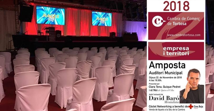 L'empresariat ebrenc es dona cita avui a Amposta a l'entrega dels Premis Cambra