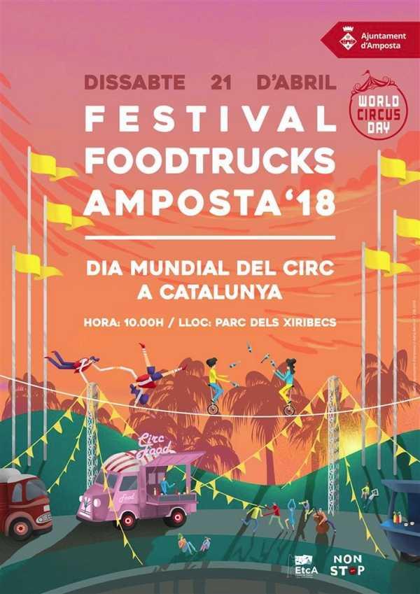 El Food Trucks Festival i el Dia Mundial del Circ ompliran d'activitats el Parc dels Xiribecs | Amposta.info