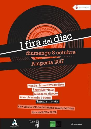 La I Fira del Disc, una nova oferta firal a Amposta | Amposta.info