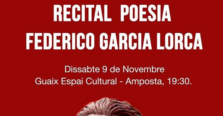 Recital de poesia de Federico Garcia Lorca