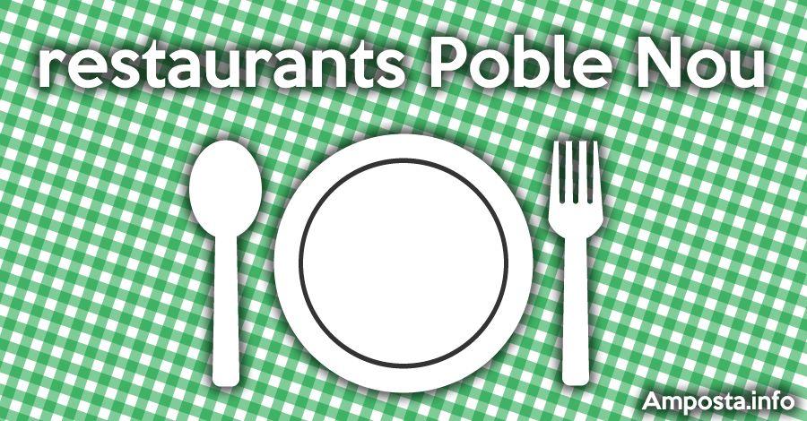 Guia de restaurants al Poble Nou del Delta