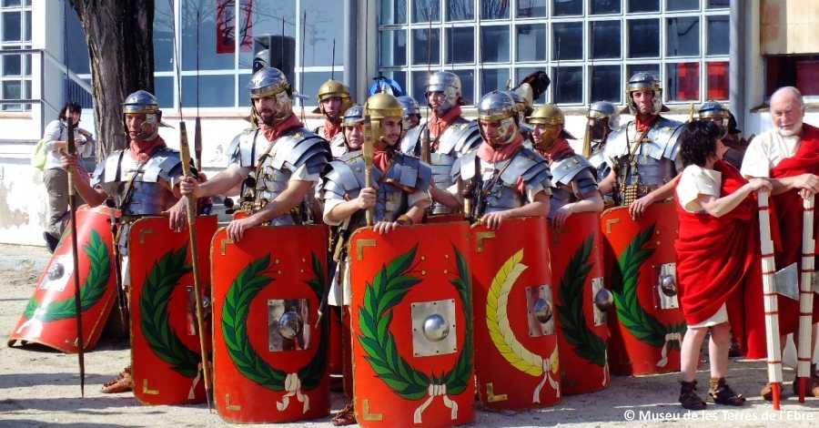 Els romans visiten per 5è any consecutiu Amposta!