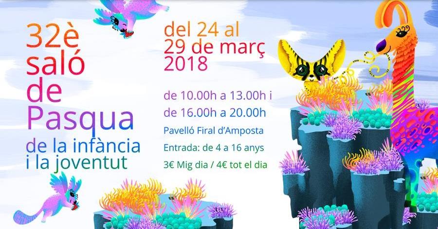 32è saló de Pasqua de la infància i la joventut d'Amposta