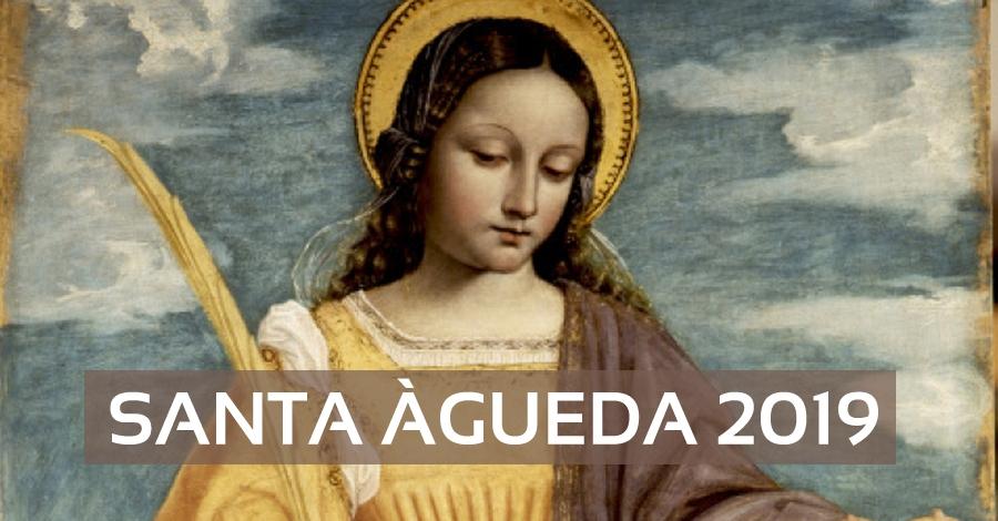 Actes de celebració de Santa Àgueda